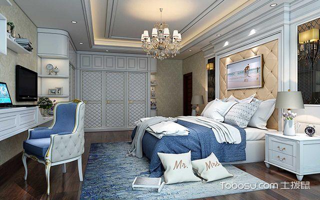 欧式卧室装修效果图5