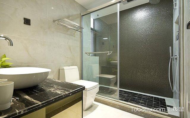 卫生间淋浴房效果图1
