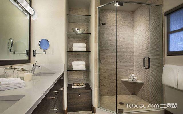 卫生间淋浴房效果图2
