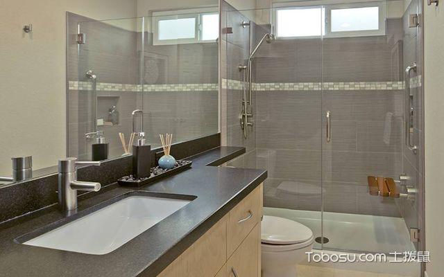 卫生间淋浴房效果图3