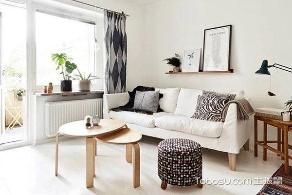 北欧风格客厅家具设计材质