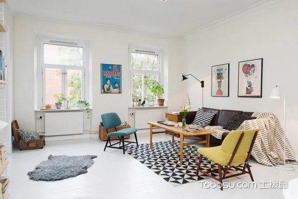 北欧风格客厅家具设计色彩
