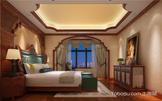 昆明三房两厅半包装修费用卧室图
