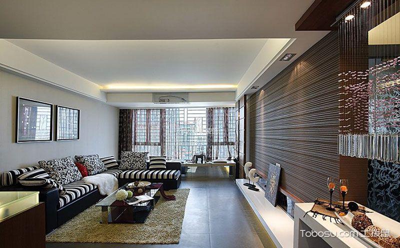 110平米三室两厅户型图,现代时尚之家的典范