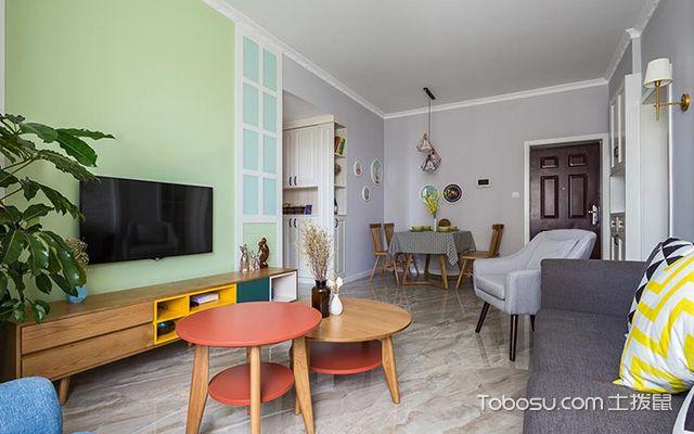 房子北欧简约风格装修设计案例图2