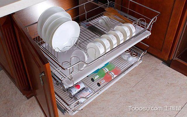厨房拉篮怎么安装图2