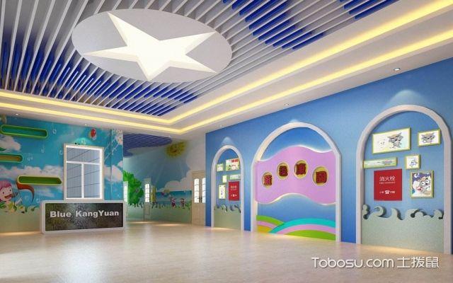 幼儿园大厅装修设计,注意什么