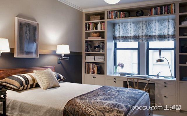 卧室飘窗怎么设计好看案例图2