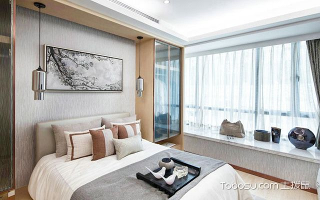 卧室飘窗怎么设计好看案例图3