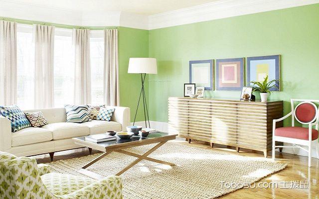小窗户窗帘效果图绿色