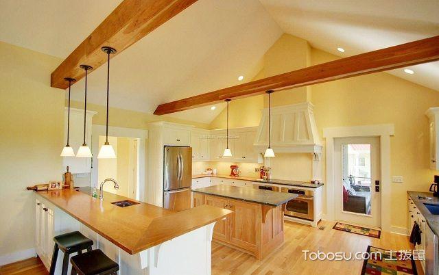 厨房天花吊顶效果图美式