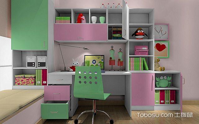 最新小户型书房搁板装修效果图儿童房