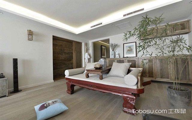 罗汉床搭配客厅