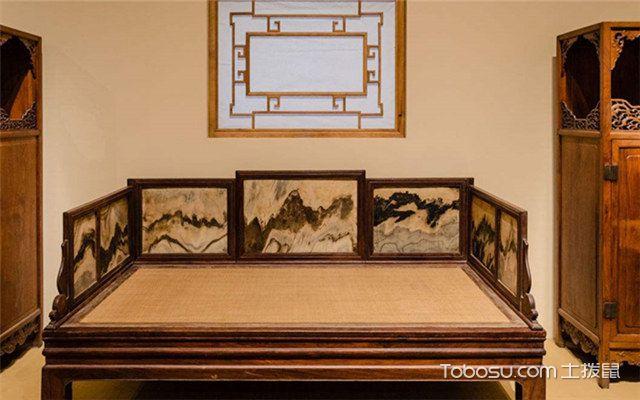 罗汉床摆放效果图之好的罗汉床木材品质高