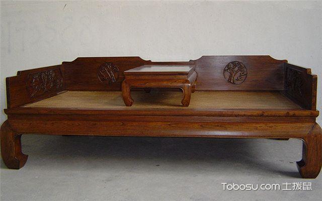 罗汉床摆放效果图之好的罗汉床声音厚和清脆