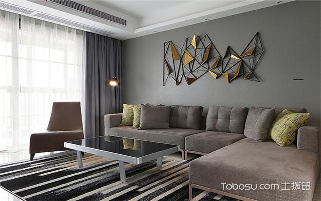客厅沙发背景墙创意装修设计