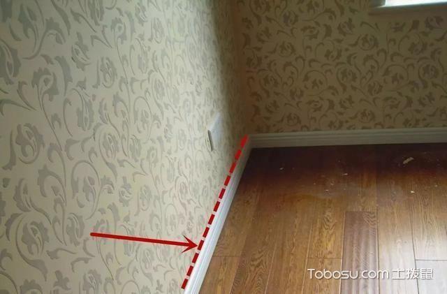 承重墙贴壁纸