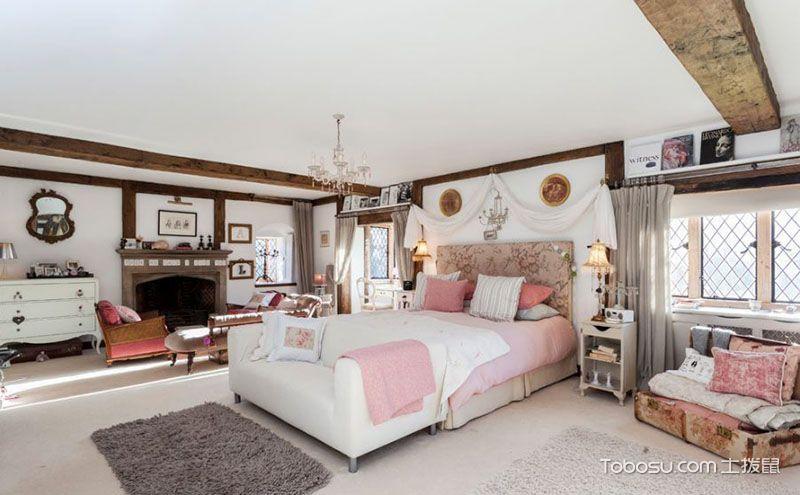 卧室家具摆放效果图,让家看起来更工整