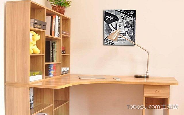 转角书桌书柜设计图?转角书桌书柜设计图案例图片