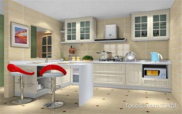 开放式厨房装修风水说明图