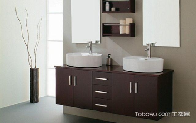 卫浴柜效果图木质