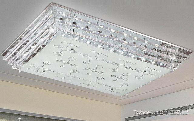 长方形吸顶灯怎么换灯罩