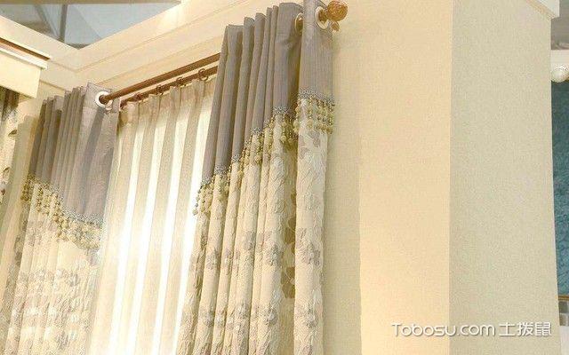 罗马杆窗帘在客厅怎么安装配图