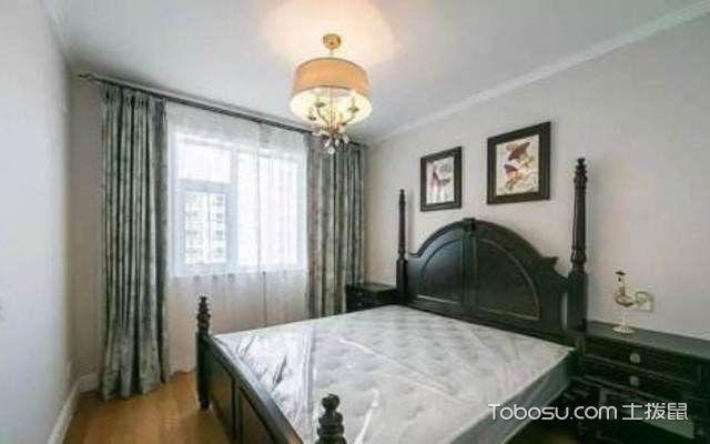 罗马杆窗帘在卧室怎么安装配图