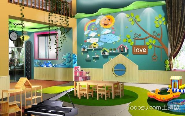 幼儿园装饰墙布置