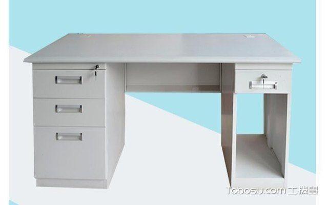 钢制电脑桌配图