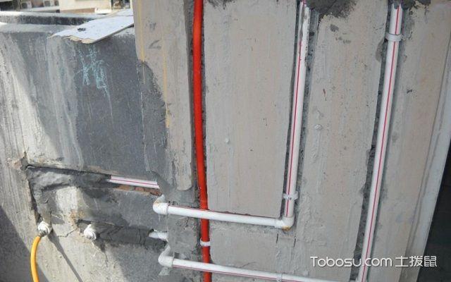 冷热水管安装规范开槽