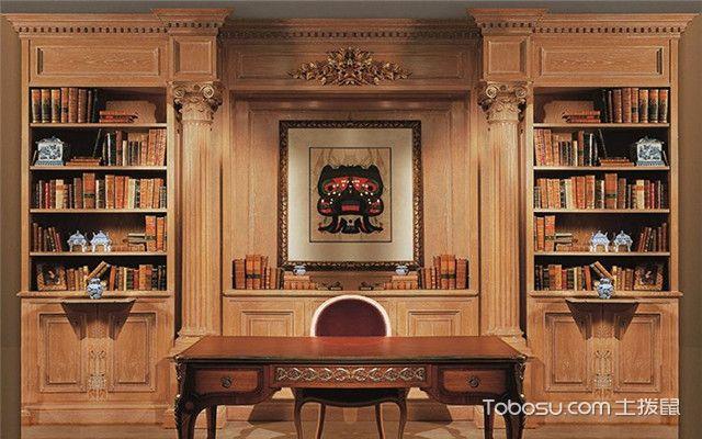 简易小书柜书架构造