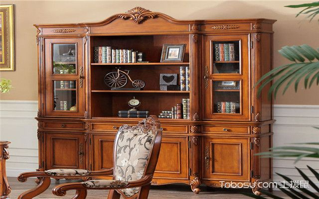 整体书柜尺寸大小