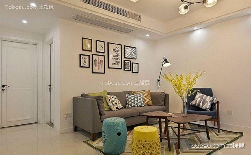 95平米两室一厅装修图,舒适明朗也文艺
