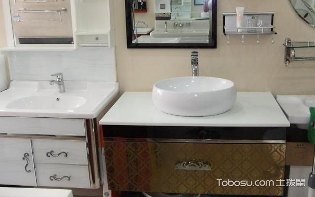 实木浴室柜设计