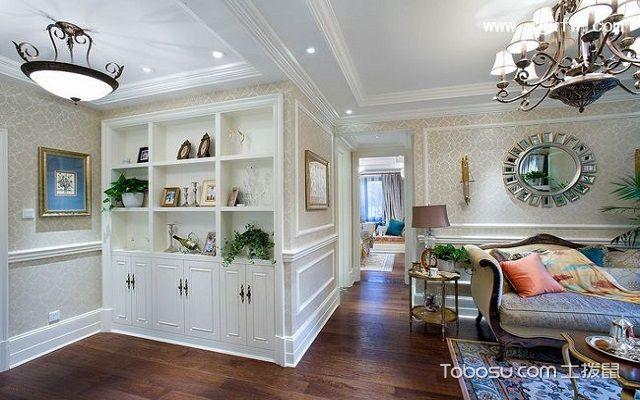 客厅过道装饰柜