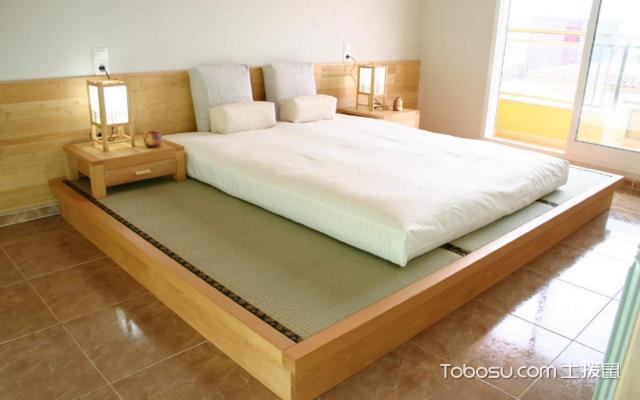 地台床与榻榻米的区别