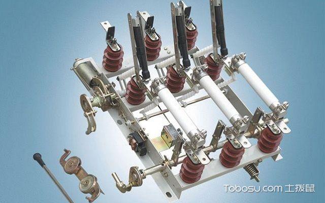隔离开关和负荷开关的作用电压