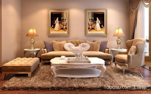 客厅装修颜色的搭配