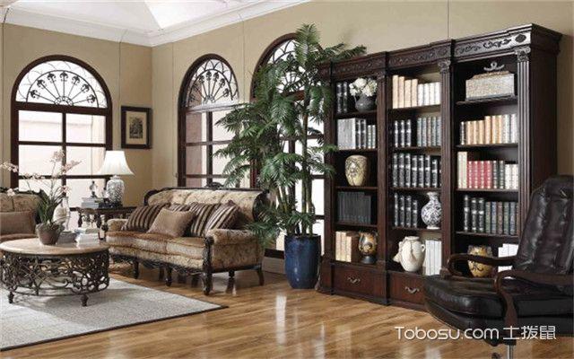全屋定制家具客厅书柜