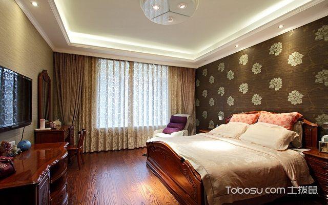 卧室石膏板吊顶效果图造型