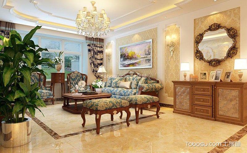 客厅瓷砖装修效果图,绝对不可忽视的细节