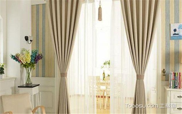 窗帘怎么装好