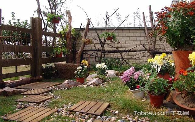 自家小花园设计案例优化