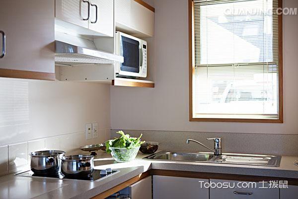 开放式厨房装修图片_土拨鼠装修经验