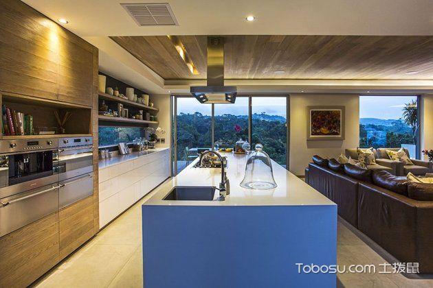 开放式厨房整体美图_土拨鼠装修经验