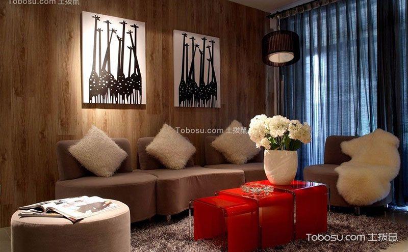 八款客厅地毯效果图,让空间亮丽起来