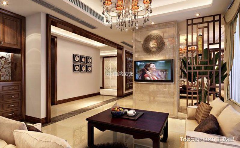 客厅隔断电视墙,精妙设计改变家装