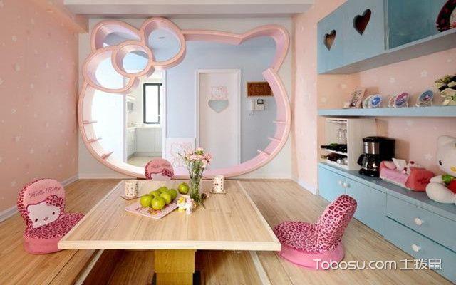 少女风格房间装修案例