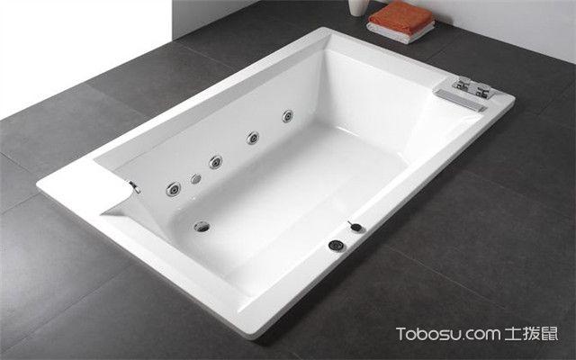 嵌入式浴缸安装步骤
